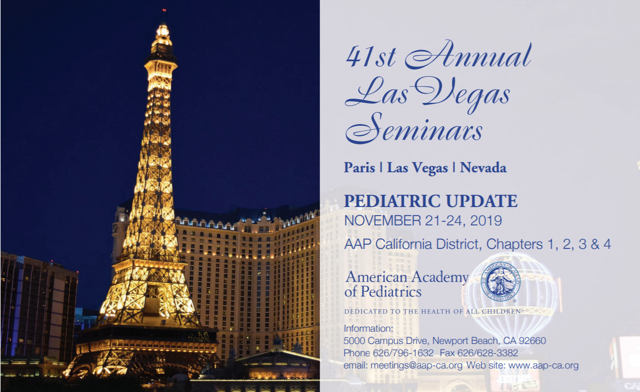 AAP California 41st Annual Las Vegas Seminars - American Academy of